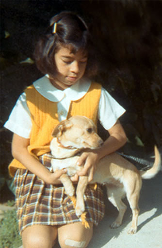 Go Dog Go 3 Week Board and Train - Olga Browning with Chiquita, her first dog